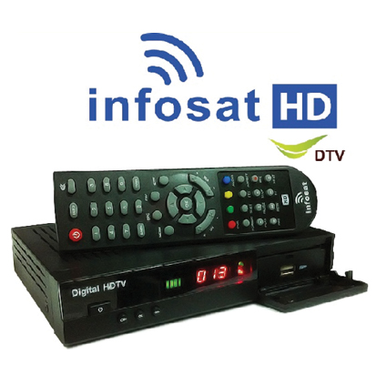 Receiver INFOSAT HD1.1 (�к� KU-Band) �Ҥ� 750 �ҷ